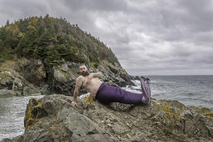 Coast mermaid man