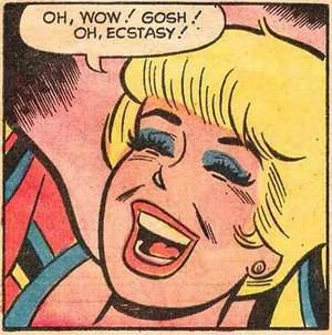Cartoon - OH, WOW GOSH OH, ECSTASY