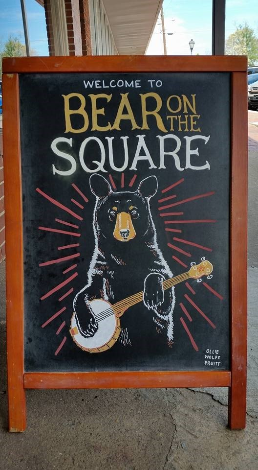Poster - WELCOME TO BEARON SQUARE THE OLLIE WOLFF PRUITT