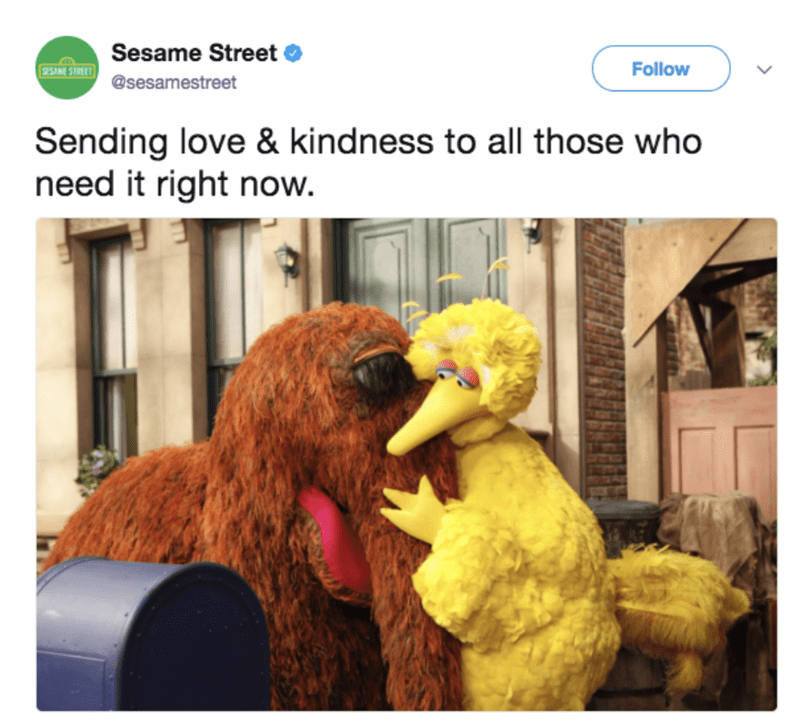 meme - Product - Sesame Street $23M 5TME@sesamestreet Follow Sending love & kindness to all those who need it right now.