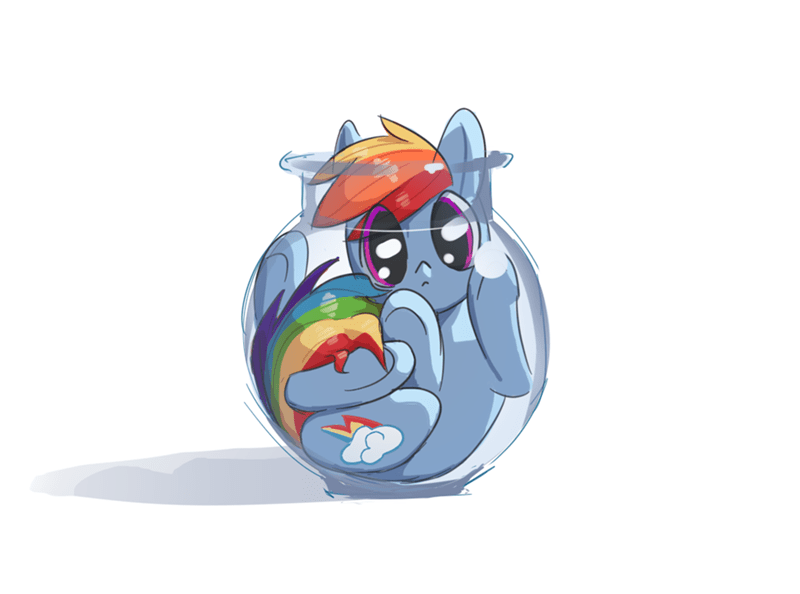 acting like animals rainbow dash - 9095720960