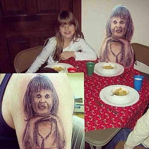 cringe tattoo - Meal