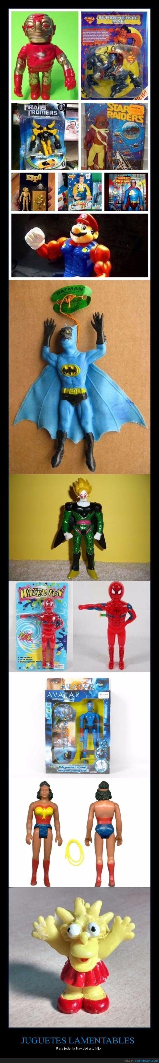 juguetes que acaban con tu navidad vilmente
