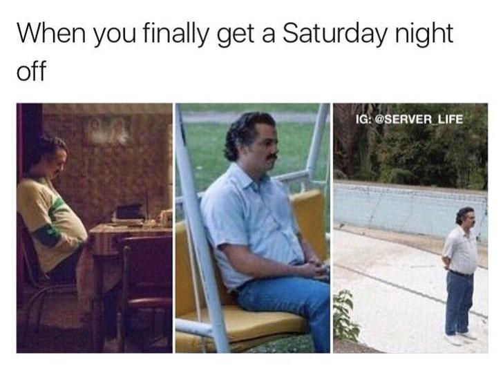 work meme about getting time off from work on a Saturday