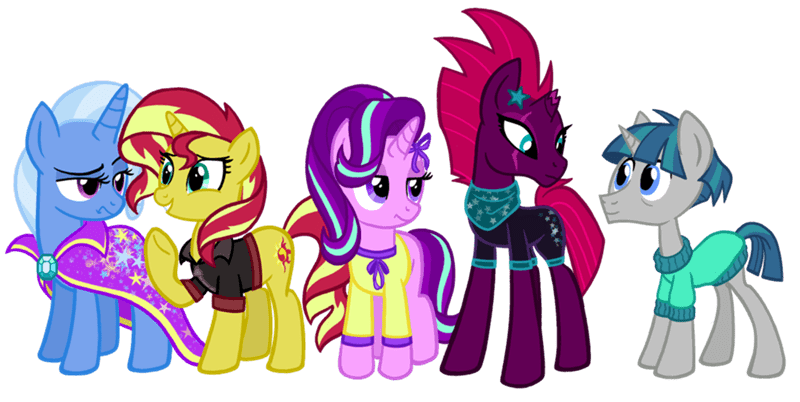 tempest shadow the great and powerful trixie starlight glimmer stygian the cheeseburger sunset shimmer - 9096915200