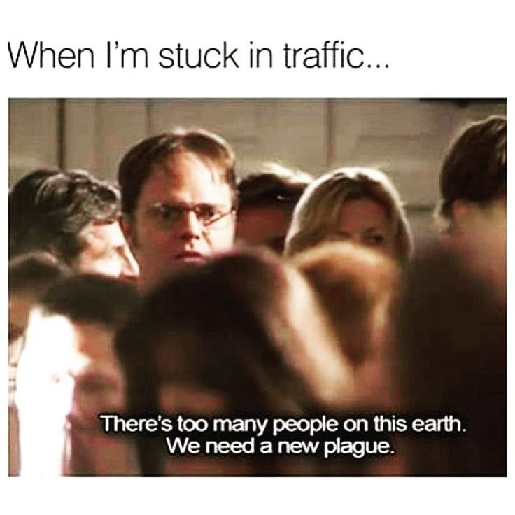 Funny meme about traffic