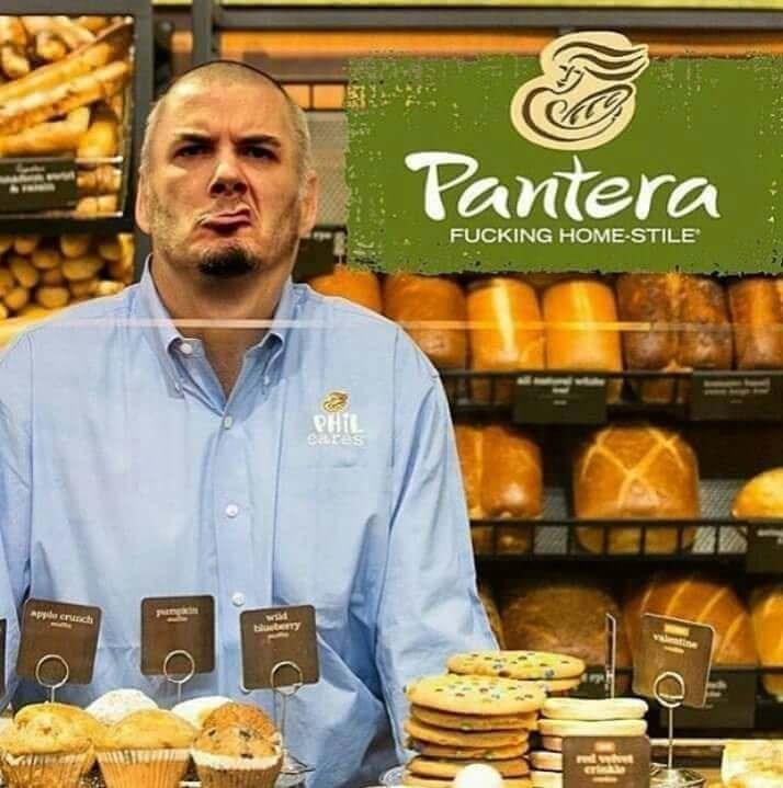 heavy metal meme - Product - Pantera FUCKING HOME-STILE PHIL eres wid applo crunch blueterry tine wht cr
