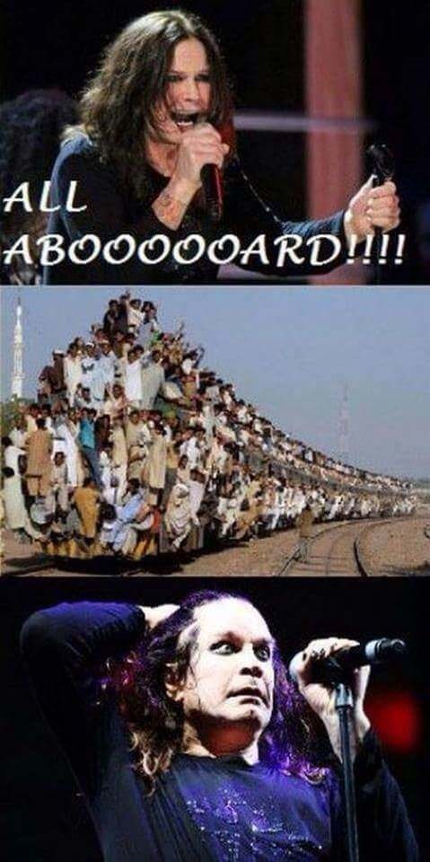 heavy metal meme - Photography - ALL ABOOO00ARD!!!