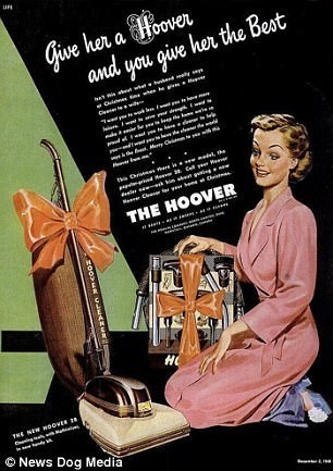 Poster - ua give her a Hoover and you give her the Best sive the marh y C fealen Ca THE HOOVER но THE NEW OOVER News Dog Media