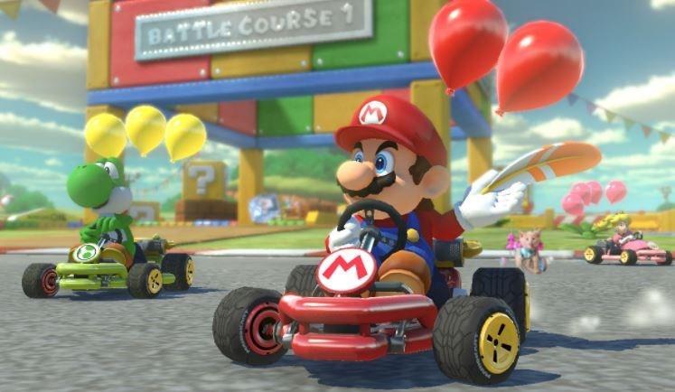 Mario - BATTLE COURSE 1