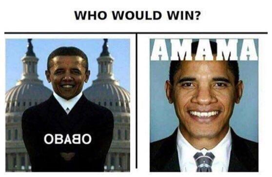 Team - WHO WOULD WIN? AMAMA OBA8O