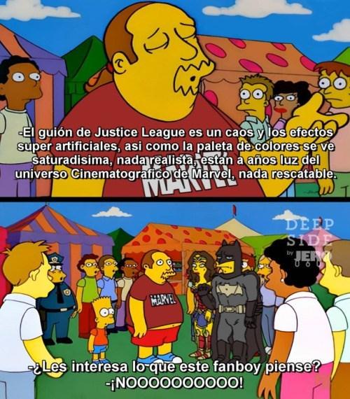 fanboys comics sobre justice league