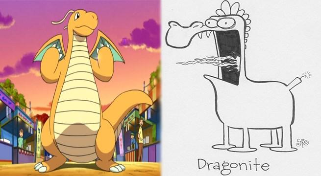 Pokémon drawings funny weird - 909829