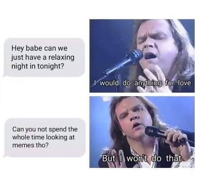 Memes meatloaf - 9098558464