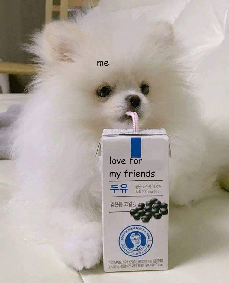 Dog - me love for my friends 두유 롱은 국산콩 100% 200 mg 검은콩 고칼슘 GO0D OR H DR.HWANS HEALTH SOLUTION 유관유7%(국 대두고행분 7% 전은량추술물 04 55% 60 190mil110 kcal D FOR WORLD