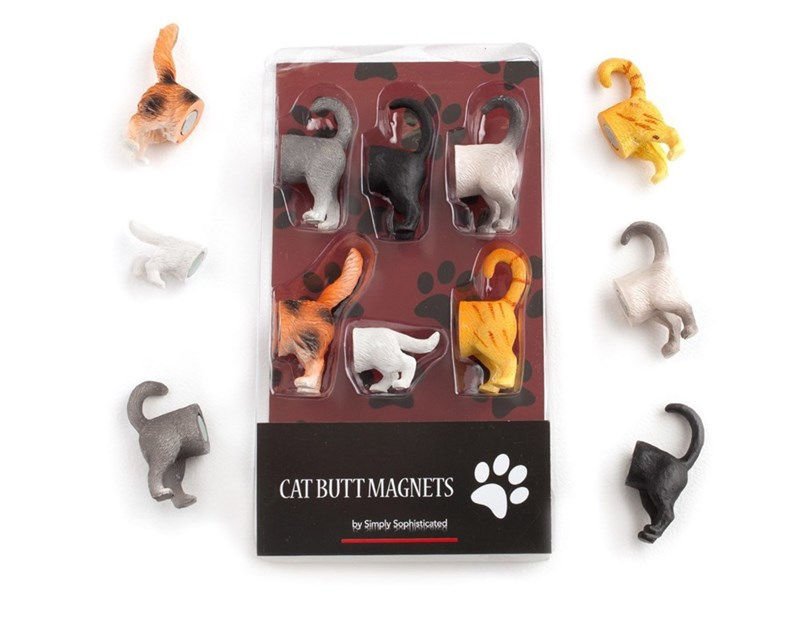 Animal figure - CAT BUTT MAGNETS by Simply Sophisticated