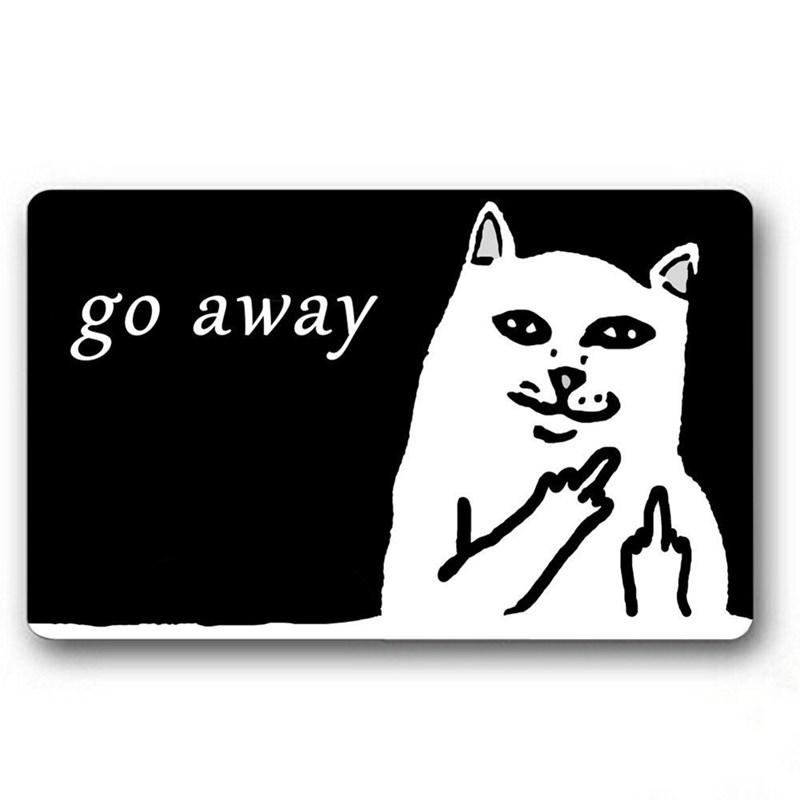 Cat - go away