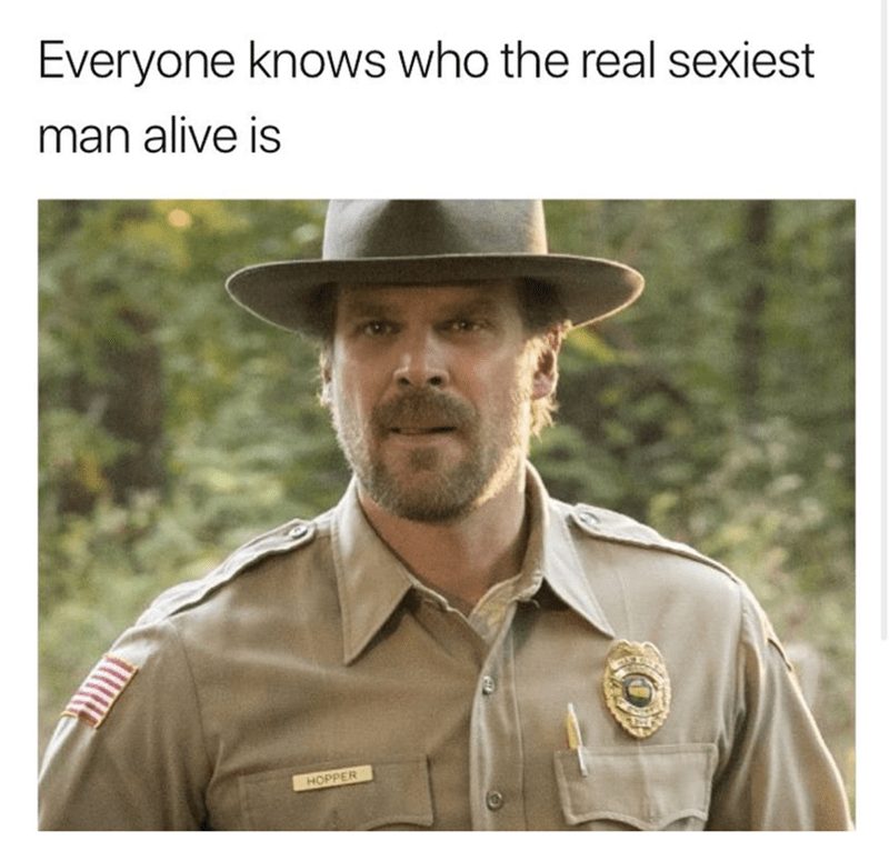 Adaptation - Everyone knows who the real sexiest man alive is HOPPER