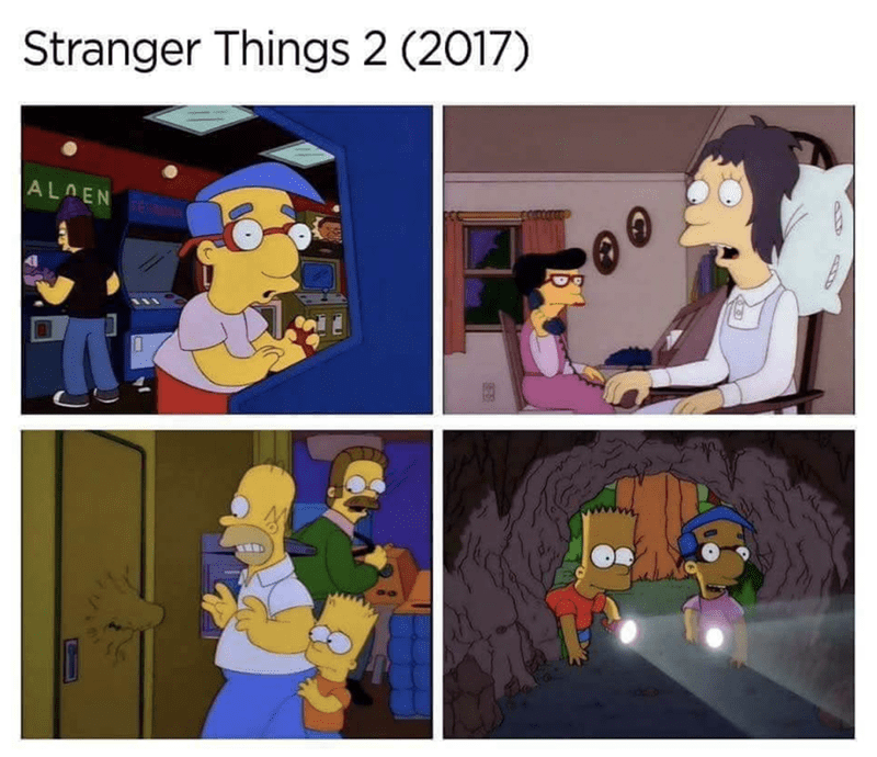 Cartoon - Stranger Things 2 (2017) ALOEN