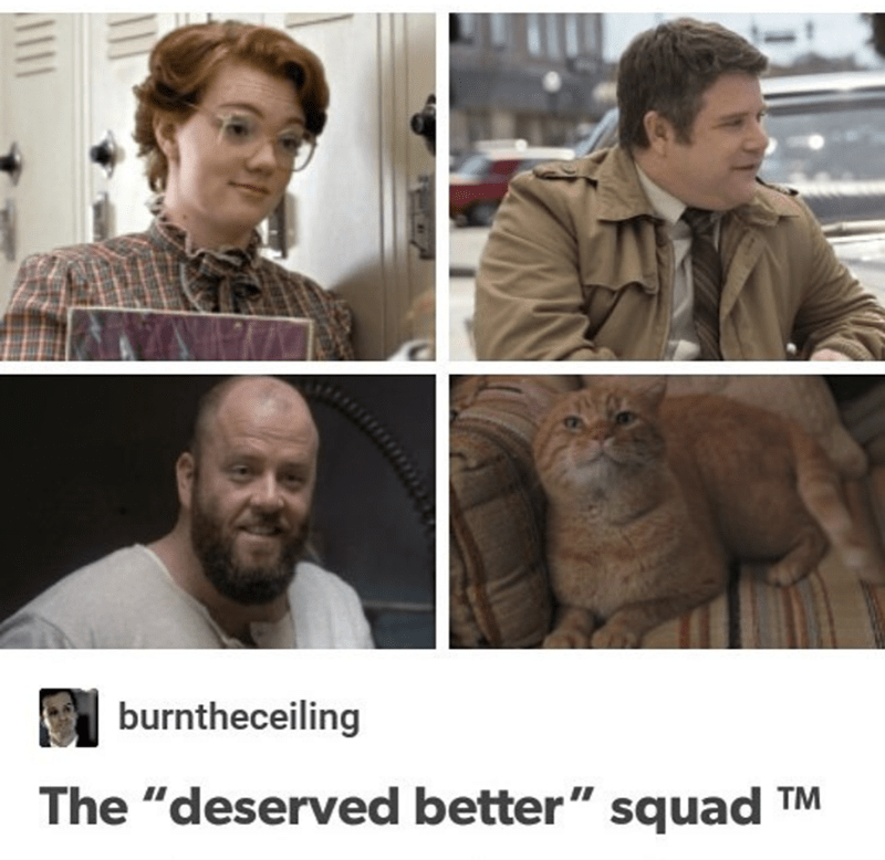 "Face - burntheceiling The ""deserved better"" squad II TM"