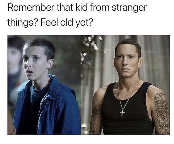 Facial expression - Remember that kid from stranger things? Feel old yet?