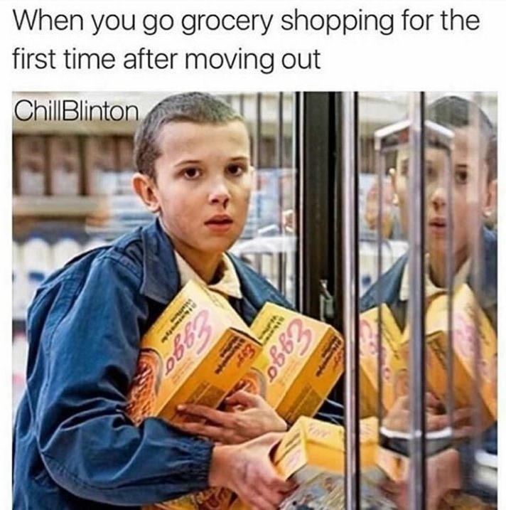 Cash - When you go grocery shopping for the first time after moving out ChillBlinton FFE Exgo S Exs