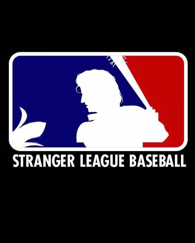 Text - STRANGER LEAGUE BASEBALL