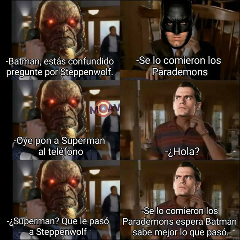 trolleo intenso entre batman y superman
