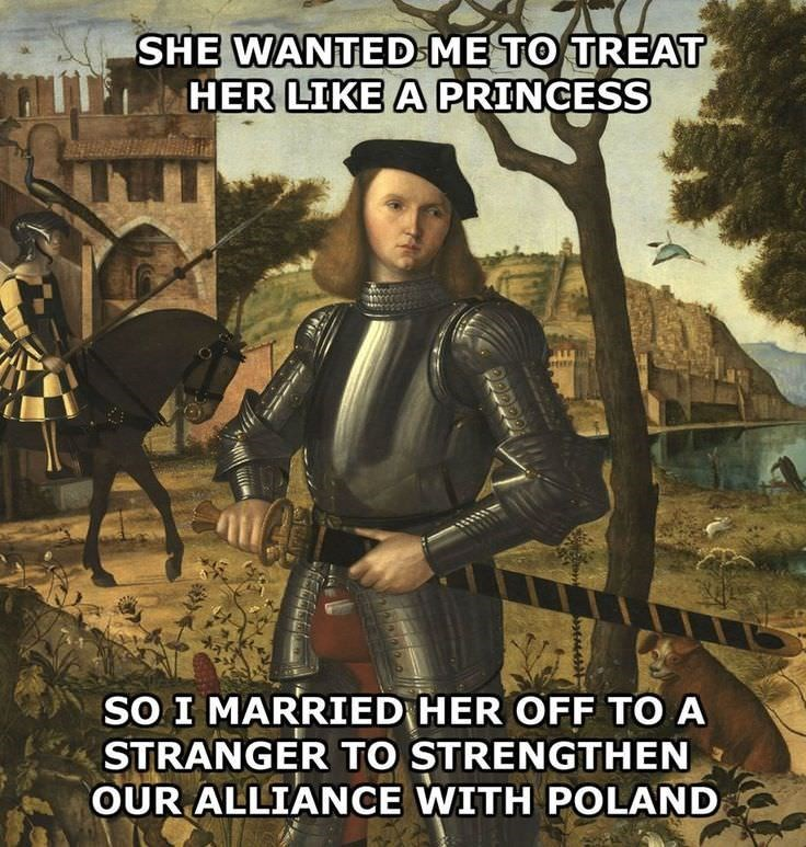Poster - SHE WANTED ME TO TREAT HER LIKE A PRINCESS SO I MARRIED HER OFF TO A STRANGER TO STRENGTHEN OUR ALLIANCE WITH POLAND