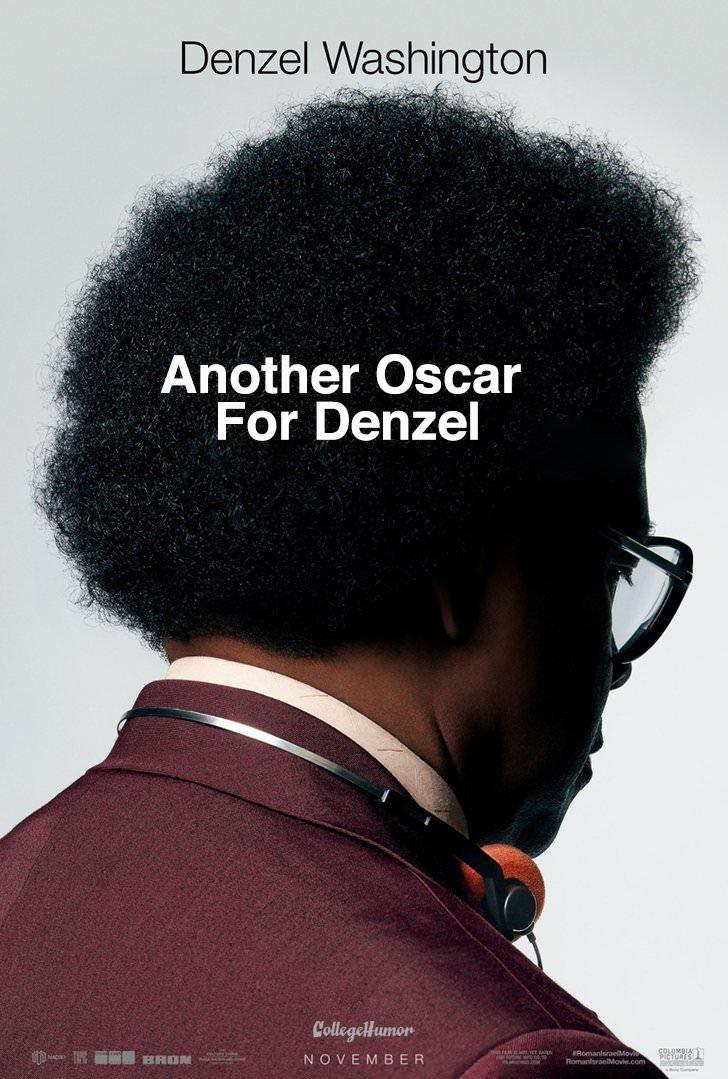 Hair - Denzel Washington Another Oscar For Denzel CollegelHumon RomanlsraelMo RomaniraelMovie.com NOVEMBER