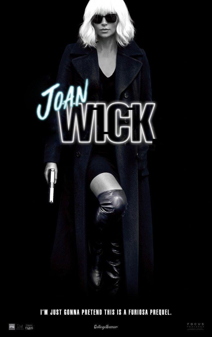 Album cover - WICK I'M JUST GONNA PRETEND THIS IS A FURIOSA PREQUEL. FOCUS CollegeHumon FILMS