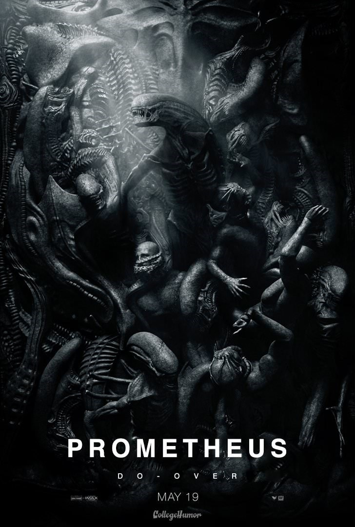 Poster - PROMETHEUS D O OVER MAY 19 IMAX Collegelumor