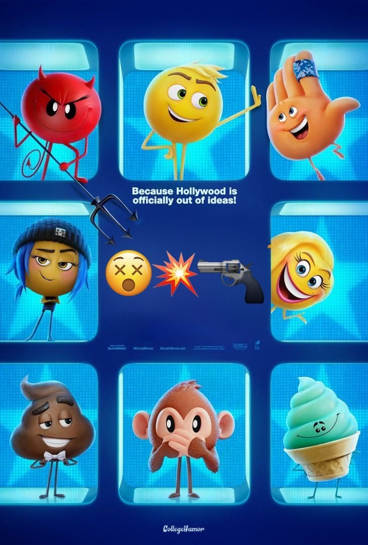 Emoticon - Because Hollywood is officially out of ideas! CollegeHumor