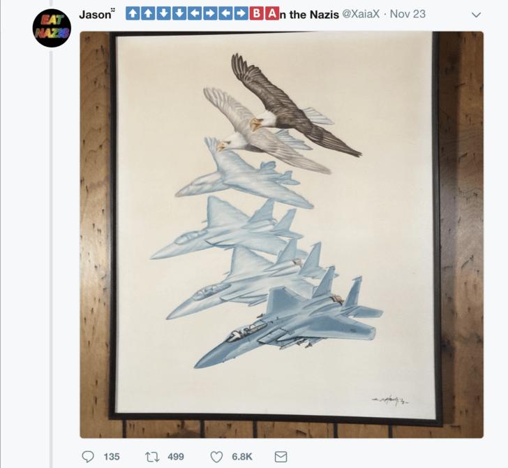 Airplane - |>BAn the Nazis @XaiaX - Nov 23 Jason - EAT NAZIS ti 499 6.8K 135