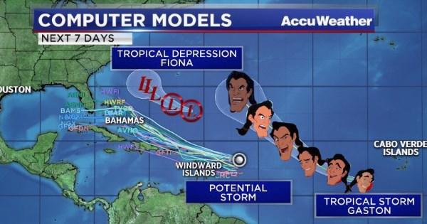 tropical storm gaston memes