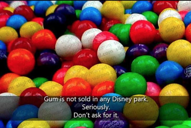 Ball - wa Com Sight! Siehtlywarpe warpeo stightpea slightlyvaree Snty fped Aiahtlywamed sHghtlya slightly .Com S d.com slic slight om sli ohtlywarpedco.m wwarged.com om m slight sightlyw slightlyw Jobnby warpe ed Gum is not sold in any Disney park. atlywar ECom inhtlysared lighgts Don't ask for it. Seriously od.com