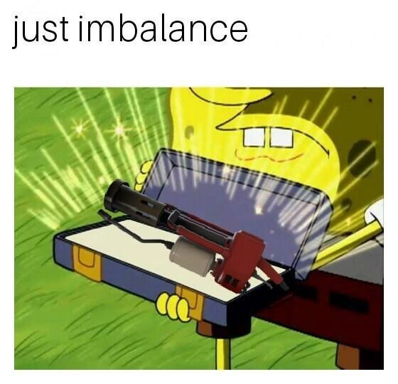Line - just imbalance