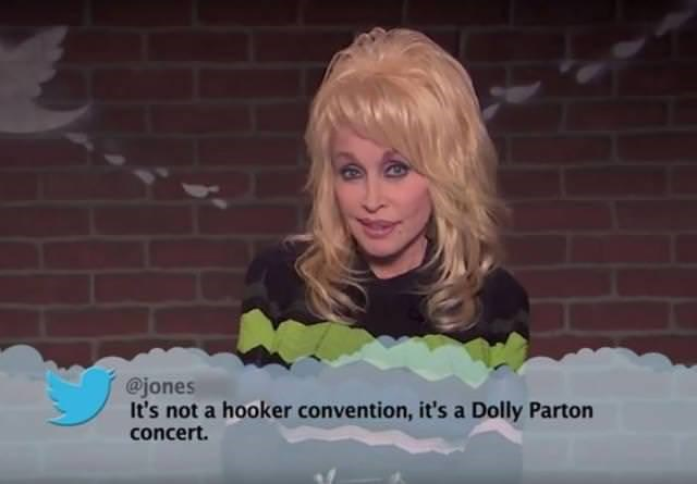 Hair - @jones It's not a hooker convention, it's a Dolly Parton concert.