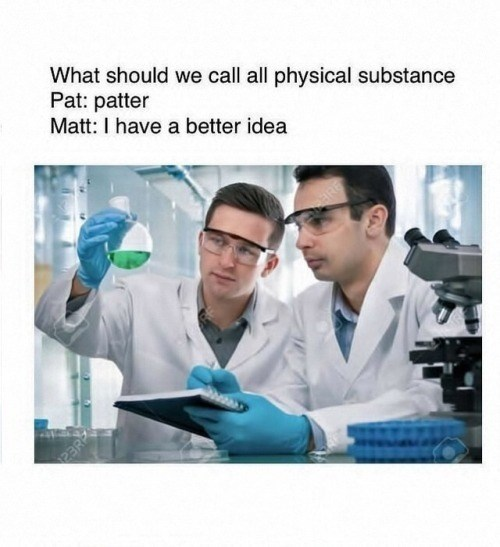 Funny meme about naming matter.