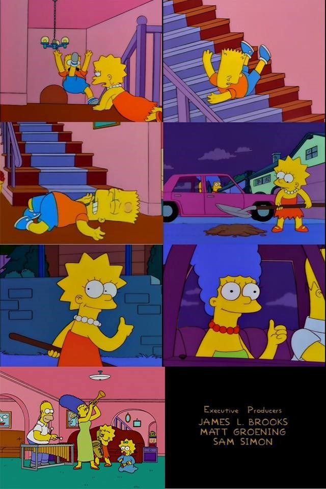 final censurado de los simpsons lisa mata a bart