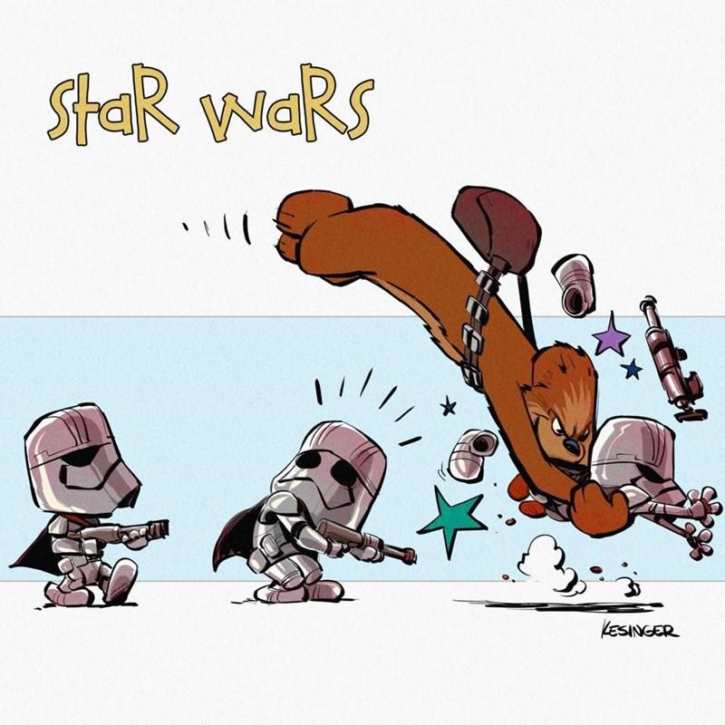 Cartoon - StAR WaRS 1 / LESINGER
