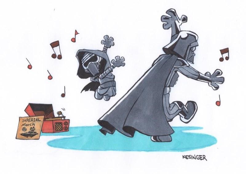 Cartoon - IMPERIAL March KESINGER