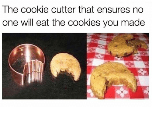 Medicinal mushroom - The cookie cutter that ensures no one will eat the cookies you made