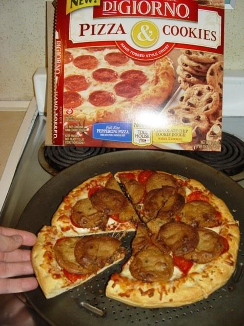 Dish - DIGIORNO & COOKIES PIZZA HAND CRUST STYLE TOSSED Full S PEPPERONI PIZZA T CON KE DO0 OOLATE CHIP COOKIE DOUCH TOLL HOUSE KEP FRGS MOEACY1O LAT wanl2coo NET DIGIORNO ADOSSED