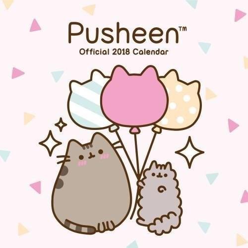 Clip art - Pusheen TM Official 2018 Calendar
