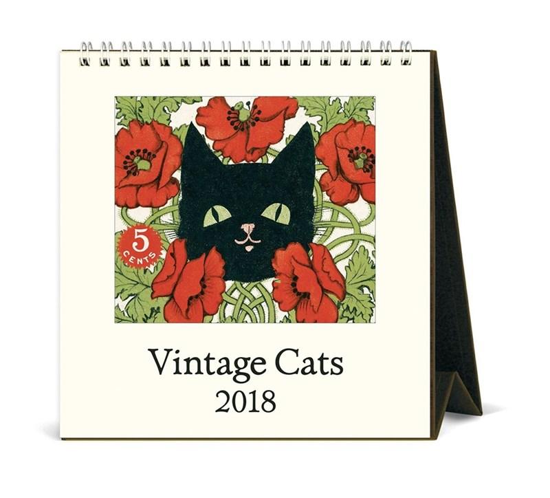 Cat - 5 Vintage Cats 2018