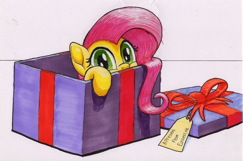 christmas hearths-warming-eve bbqninja501st fluttershy - 9102893824
