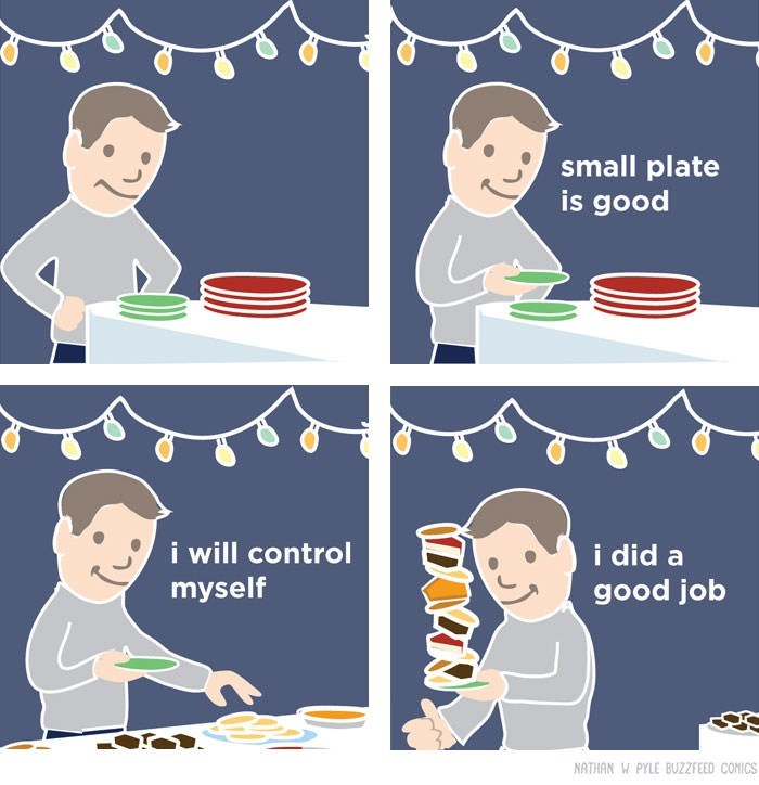 Line - small plate is good i will control i did a good job myself NATHAN W PYLE BUZZFEED COMICS