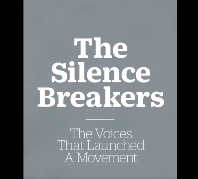 Font - The Silence Breakers The Voices That Launched A Movement