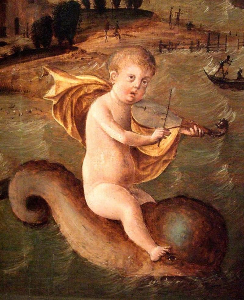 ugly renaissance babies - Mythology